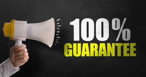 What Guarantees do I have if I decide to make a claim?